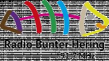 Logo: Radio Bunter Hering 91,7 MHz Frankfurt/Oder 2015 (neu)